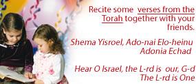 Say Verses of Torah