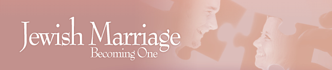 Jewish Marriage - Becoming One