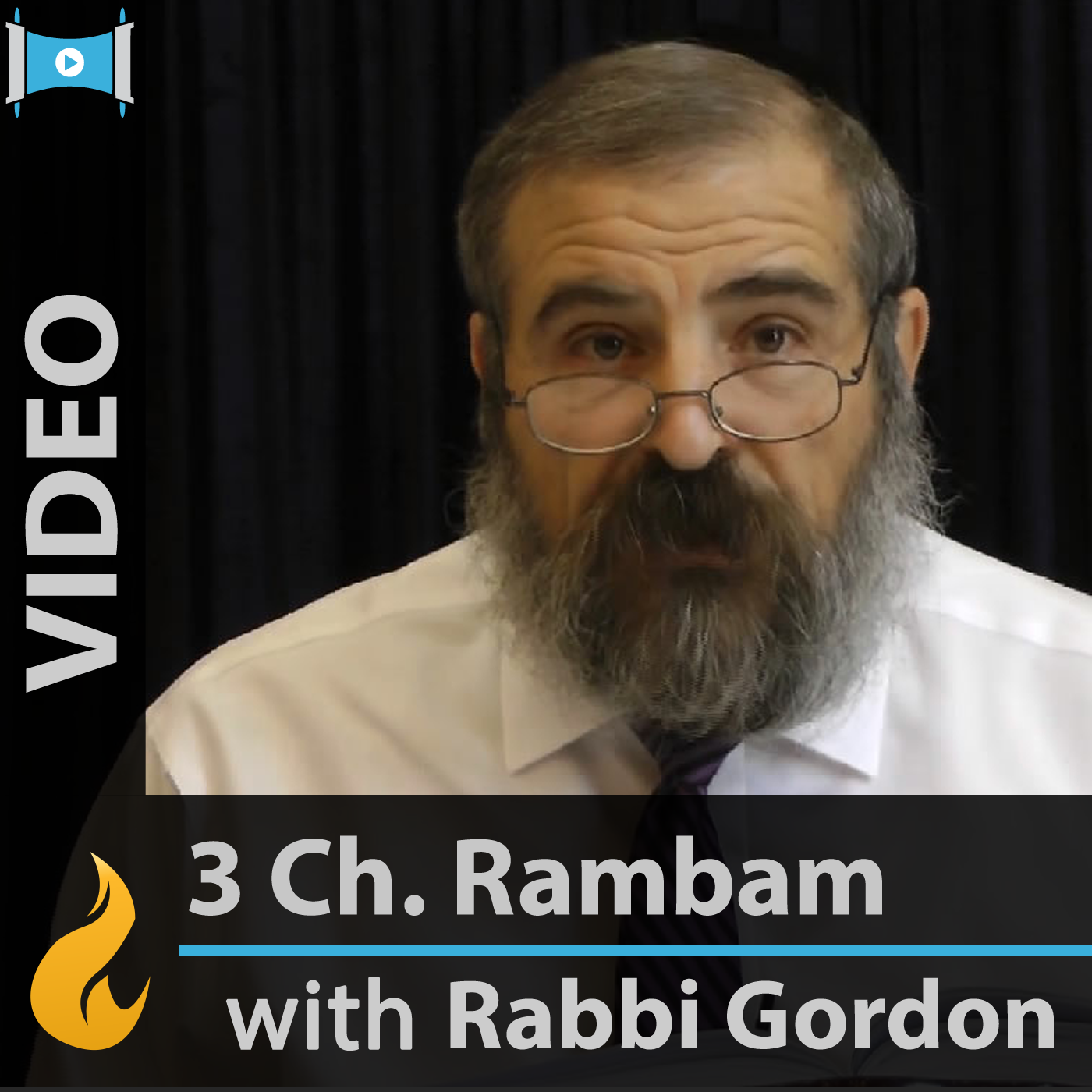 Rambam - 3 Chapters a Day (Video)